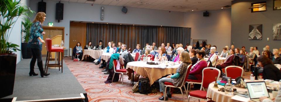 Helen Walker at EFT Gathering