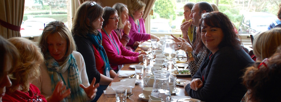 EFT Gathering lunch group
